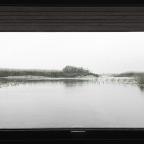 Floating bird observation hide